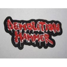 DEMOLITION HAMMER patch embroidered