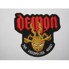 DEMON The Unexpected Guest patch embroidered