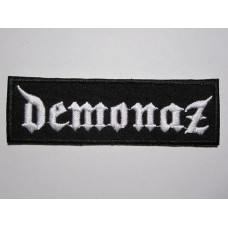 DEMONAZ patch embroidered