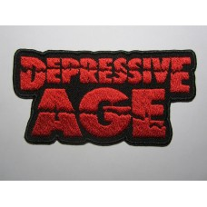 DEPRESSIVE AGE patch embroidered