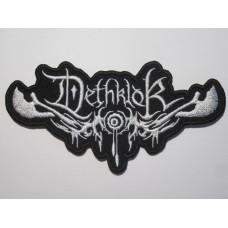 DETHKLOK patch embroidered