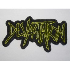 DEVASTATION patch embroidered