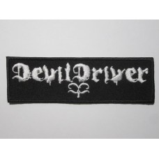 DEVILDRIVER patch embroidered