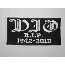 DIO 1942-2010 patch embroidered