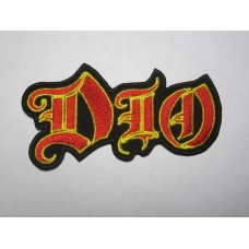 DIO patch embroidered