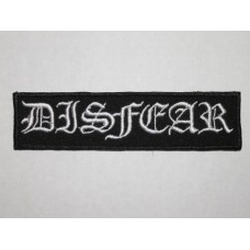 DISFEAR patch embroidered