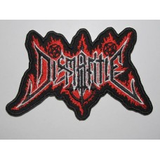 DISMANTLE patch embroidered