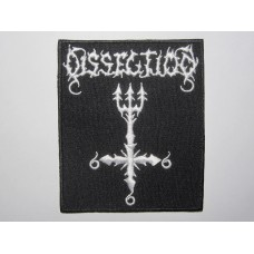 DISSECTION patch embroidered