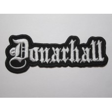 DONARHALL patch embroidered