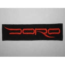 DORO patch embroidered