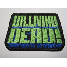 Dr. LIVING DEAD patch embroidered