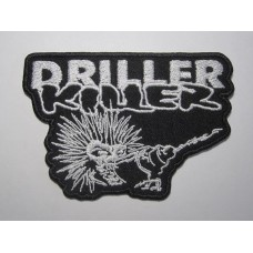 DRILLER KILLER patch embroidered