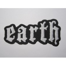 EARTH patch embroidered