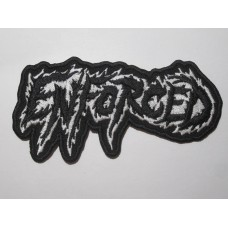 ENFORCED patch embroidered