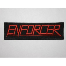 ENFORCER patch embroidered