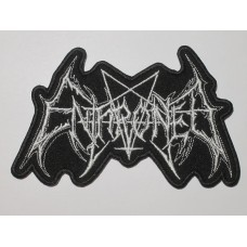 ENTHRONED patch embroidered