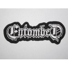 ENTOMBED patch embroidered
