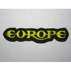 EUROPE patch embroidered