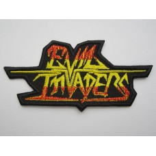 EVIL INVADERS patch embroidered
