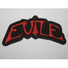 EVILE patch embroidered