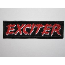 EXCITER patch embroidered