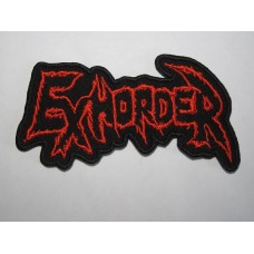 EXHORDER patch embroidered