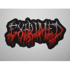 EXHUMED patch embroidered