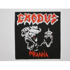 EXODUS patch Piranha embroidered