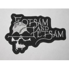 FLOTSAM AND JETSAM patch embroidered