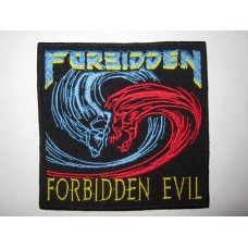 FORBIDDEN patch embroidered Forbidden Evil