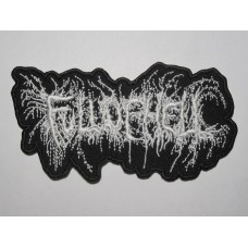 FULL OF HELL patch embroidered