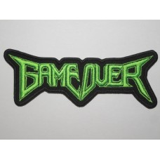 GAME OVER patch embroidered