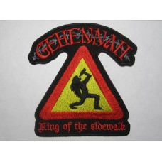 GEHENNAH patch embroidered