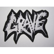 GRAVE patch embroidered