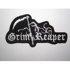 GRIM REAPER patch embroidered