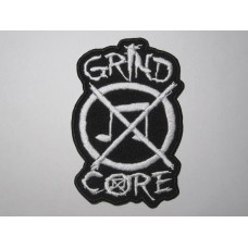 GRIND CORE patch embroidered