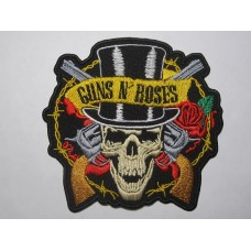 GUNS N' ROSES patch embroidered