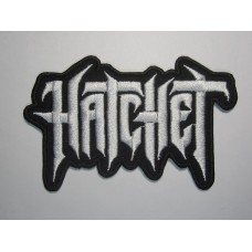 HATCHET patch embroidered
