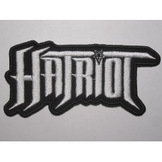 HATRIOT patch embroidered