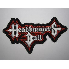 HEADBANGERS BALL patch embroidered