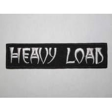HEAVY LOAD patch embroidered