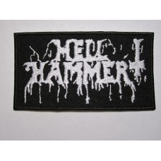HELLHAMMER patch embroidered