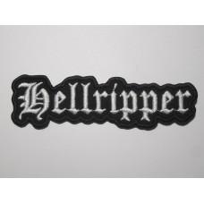 HELLRIPPER patch embroidered
