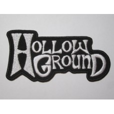 HOLLOW GROUND patch embroidered