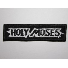 HOLY MOSES patch embroidered