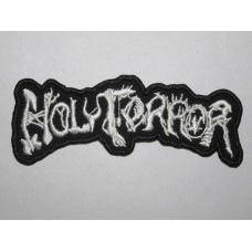 HOLY TERROR patch embroidered