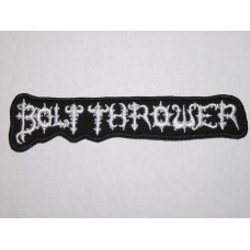 BOLT THROWER patch embroidered logo