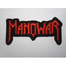 MANOWAR patch embroidered logo