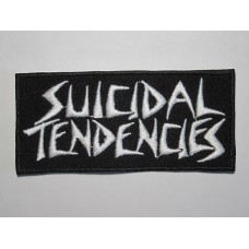 SUICIDAL TENDENCIES patch  embroidered logo