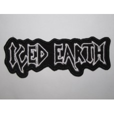 ICED EARTH patch embroidered